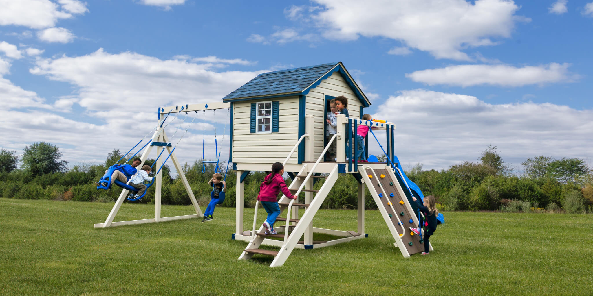 Swing Sets Mohawk Valley Sheds Cabins And More
